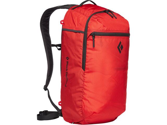 Black Diamond Trail Zip 18 Backpack hyper red
